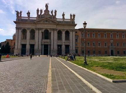 Fasada Bazyliki św. Jana na Lateranie