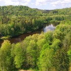 Sigulda i zamki doliny rzeki Gaudy