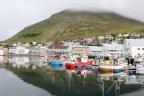 Finnmark – fiord Porsanger i miasteczko Honningsvag